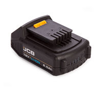 JCB 20LI 18V 2.0Ah Li-ion Battery