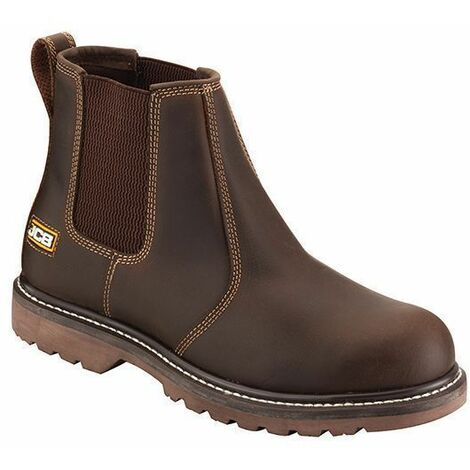 /& 1 Pair of Socks Sizes 6-13 Buckler B1500 Non Safety Dealer Boots Brown