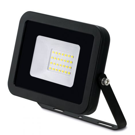 JCC 30W LED Floodlight IP65 Aluminium 4000K Black