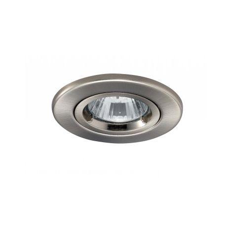 JCC Fireguard Mains IP20 Recessed Twist & Lock Downlight 50W Brushed Nickel (JC94113BN)