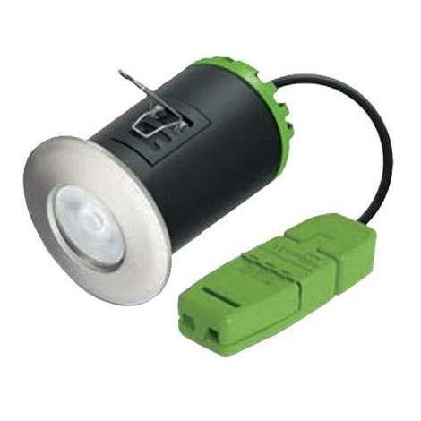 JCC Hybrid9 LED Downlight 3000K Polished Chrome 10 Pack