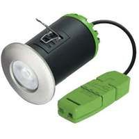 JCC Hybrid9 LED Downlight 4000K Brushed Nickel 8.5W