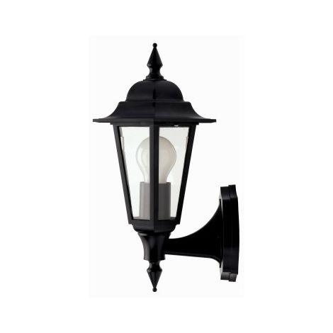 JCC Montella IP44 Wall Lantern Uplighter Halogen ES 42W (JC32010WH)
