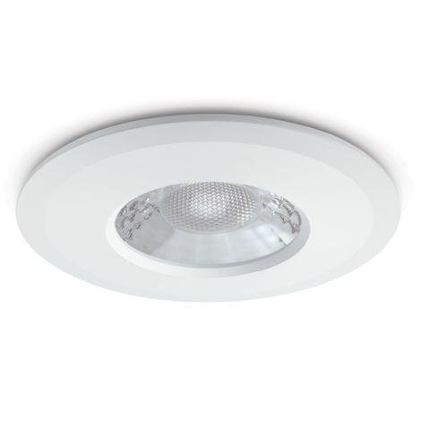 JCC V50 Colour Selectable Fixed Fire-rated LED Downlight 7W 650lm IP65 White