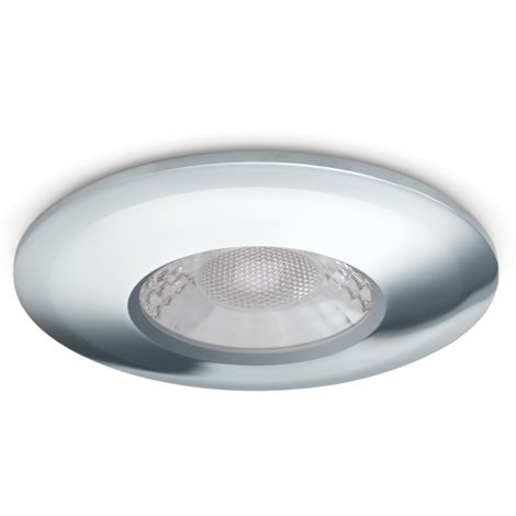 JCC V50 Fire-Rated LED Downlight 7W 650Lm IP65 Ch Emergency
