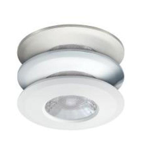 JCC V50 Fire-Rated LED Downlight 7W 650Lm IP65 Supplied with Bezels