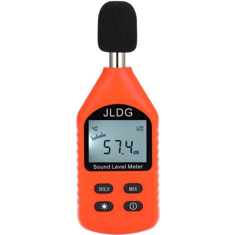 JD-118 compteur de decibels de precision compteur de bruit numerique de haute precision expedie sans batterie