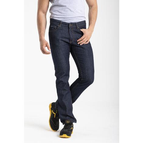 Jeans de travail coton coupe confort brut - 48