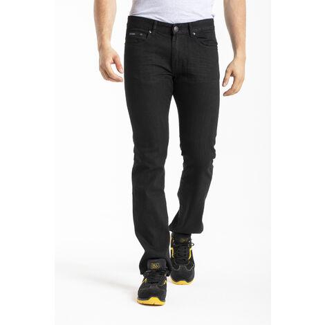 Jeans de travail coton coupe confort noir - 52