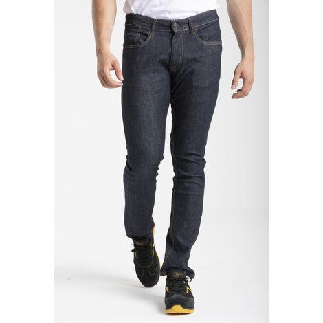 Jeans de travail coupe droite ajustée brut stretch - 38
