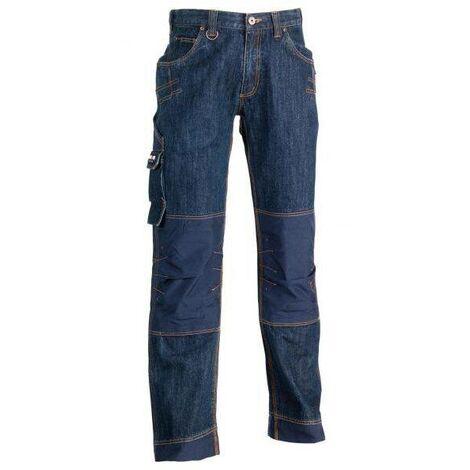 Jeans de travail Krono Herock Bleu