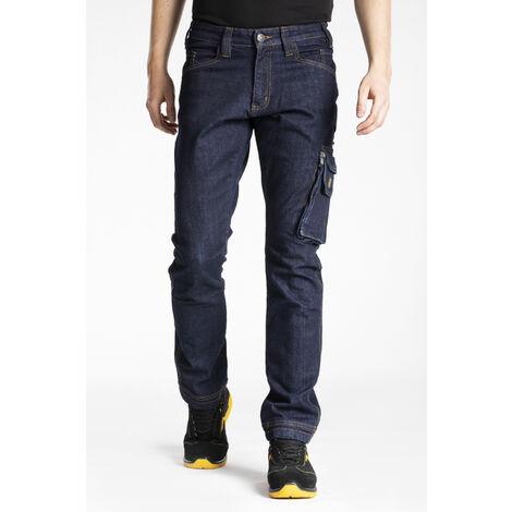 Jeans de travail multi poches stretch brut JOBA - 46