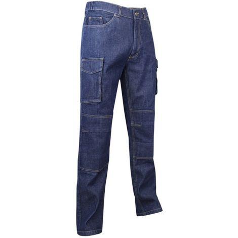 Jeans de travail stretch WORK LMA Bleu