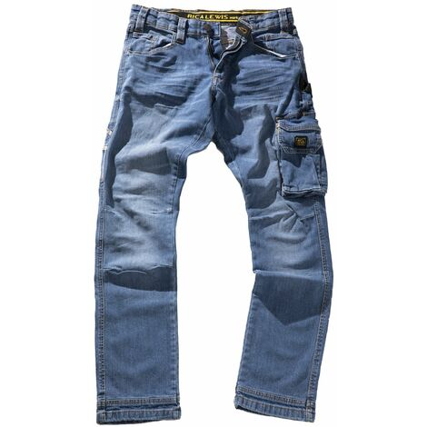 """main image of """"Jeans de travail workwear stretch coupe confort JOB"""""""