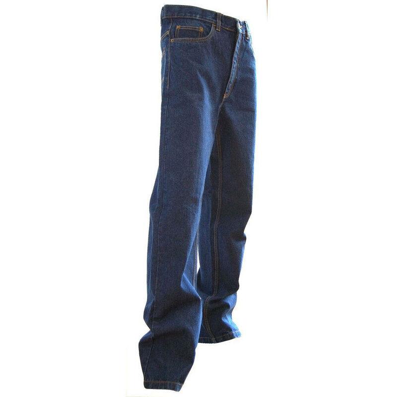 Jeans extensible 5 poches western Memphis Bleu 60 - LMA