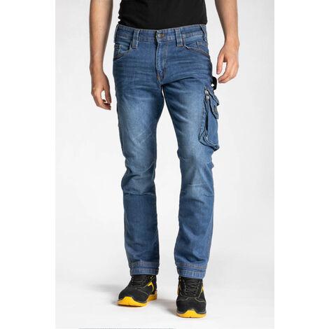 Jeans multi-poches stretch coupe confort JOB RICA LEWIS - plusieurs modèles disponibles
