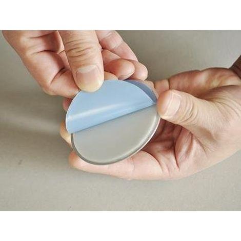 Jeising Premium Magnetbefestigung Set 10x, Magnethalter für Rauchmelder, 3M Premium Magnetklebehalterung selbstklebend, Magnetbefestigung