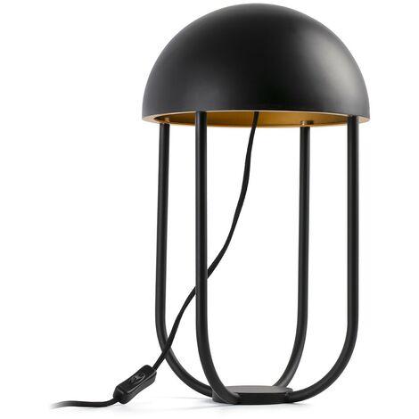 JELLYFISH Lámpara de sobremesa - Negro y oro