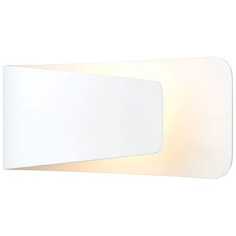 Jenkins 1lt wall 7.5W warm white - matt white paint