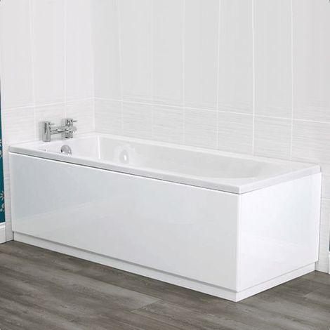 "main image of ""Jensen Edwards Luxury Wood 1600 Front Bath Panel - size 1600mm Front Panel - color White"""