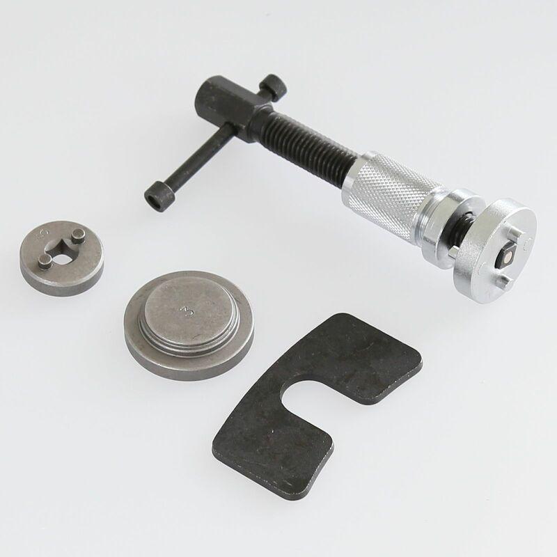 JEOBEST®5PCS Réinitialisation Frein Repousse Piston Kit cylindres Réglage / Main Droite - Noir-argent