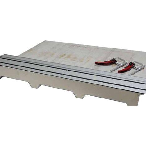 Jepson guide rail 1,40 m avec 2 serres joints rapides - 608275 set