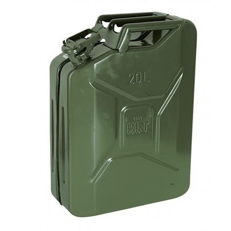 Jerrican à essence en métal 10l 10L