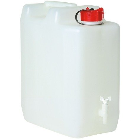 Jerrican alimentaire extra fort Eda - 35 l