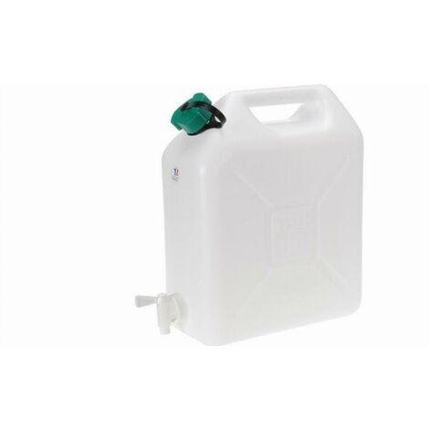 Jerrican de qualité alimentaire avec robinet ALGI - 10L - 07510010