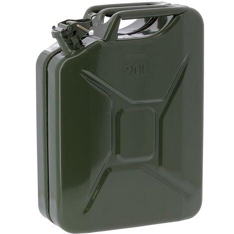 Jerrican essence en métal - 20 litres
