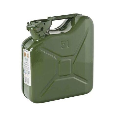 """main image of """"Jerrican essence et gasoil en metal 5 litres (5L)"""""""