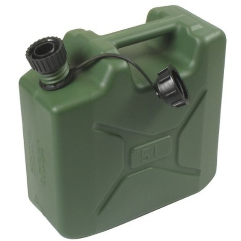 Jerrican plastique type US 5 litres