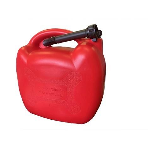Jerrican polyéthylène 20 Lt + bec verseur flexible