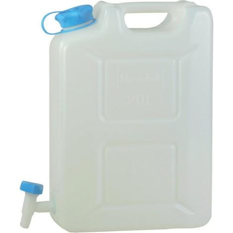 Jerrican pour eau Profi 22 l HD-PE natur