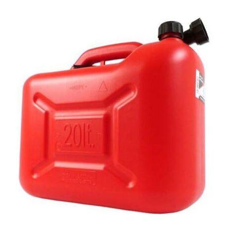 Jerrican pour le transport d'essence t gasoil 20 litres