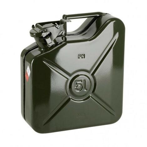 Jerrycan carburant métallique - plusieurs modèles disponibles