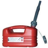 Jerrycan 'hydrocarbures' en plastique rouge- plusieurs modèles disponibles