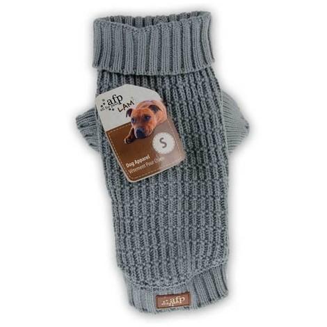 Jersey Para Perros Classic Weave Gris AFP