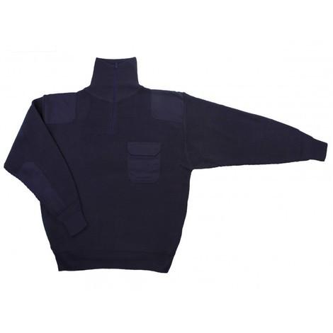 Jersey punto grueso con cuello alto Serie 101
