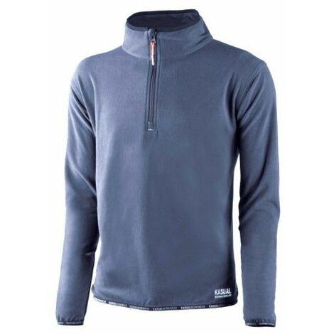 Jersey Trabajo 2890Dn/2Xl 100% Poliester Forro Polar Azul/Marino