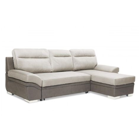 Jessica 2 Seater Sofa with Chaise Linen Grey