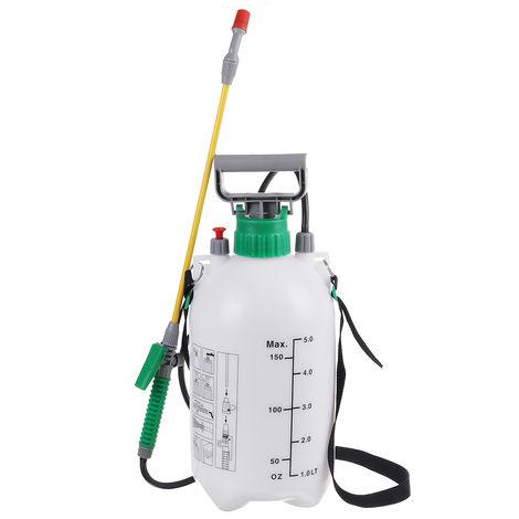 Jet de pompe chimique de désherbant d'engrais de jet d'eau du pulvérisateur 5L de pression de jardin