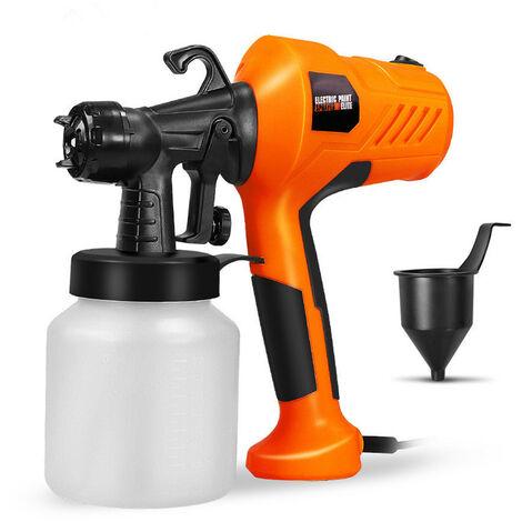 Jet d'eau de désinfection par pulvérisation électrique haute pression portable (orange, prise UE)
