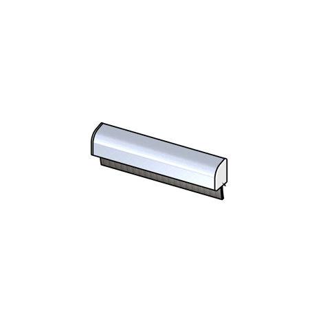 Jet eau alu anodisé + Brosse blanc 18mm BILCOCQ - L.3m - JEB17/23-L2