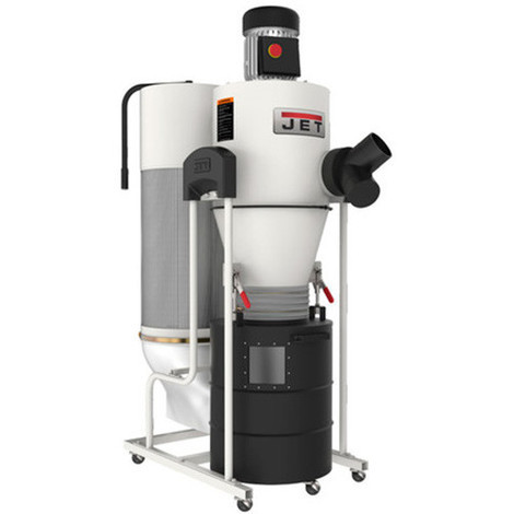 JET - Système d'aspiration cyclonique 1100 W 230 V - JCDC-15-M