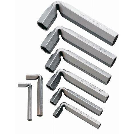 Jeu 8 clés tubes coudees SAM - 86J8