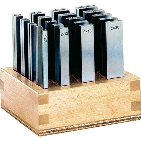 Jeu cales parallèles SP L 100mm support en bois FORMAT 1 PCS