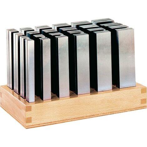 Jeu cales parallèles SP L 125mm support en bois FORMAT 1 PCS