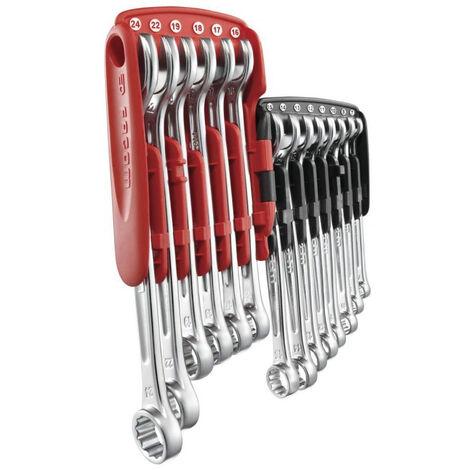 Jeu de 14 clés mixte standard 7 à 24 mm + étui FACOM - 440.JP14