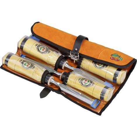 Jeu de 2 charpentiers 4 pièces, dans un sac en cuir velours C681091